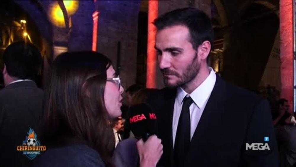 Alba Carreres, en la Gala del Deporte catalán