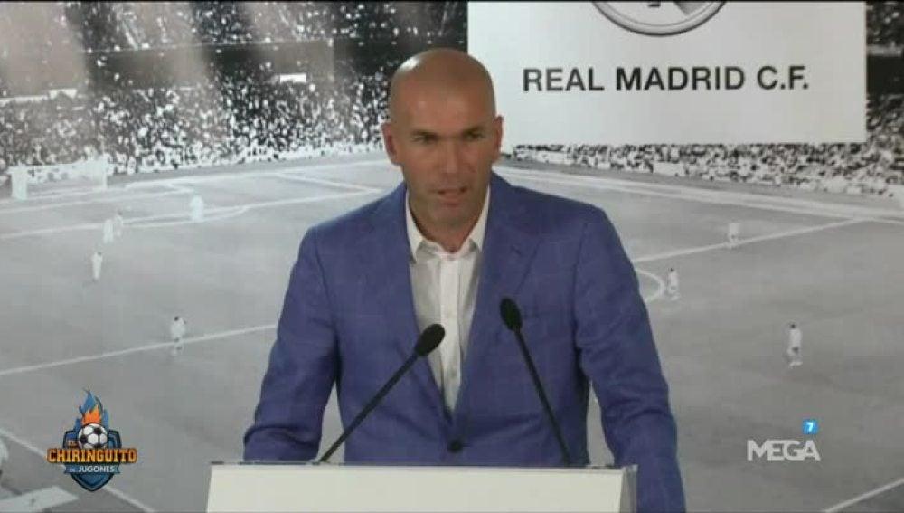 Un año de la llegada de Zidane