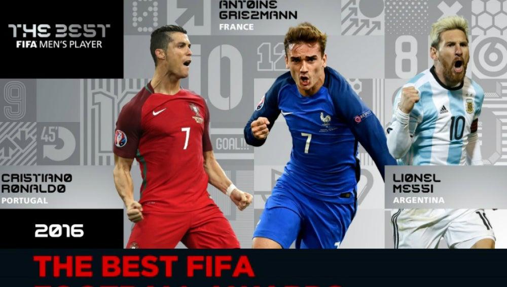 Premios 'The Best' en MEGA