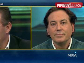 Pipi Estrada y Paco Buyo