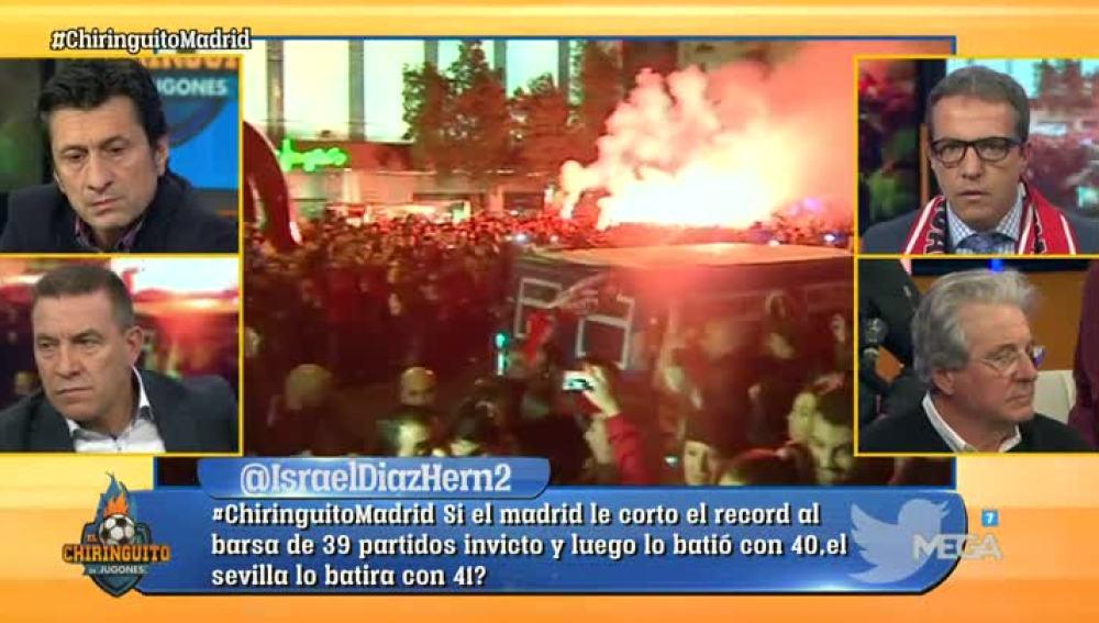 La victoria del Sevilla, a debate