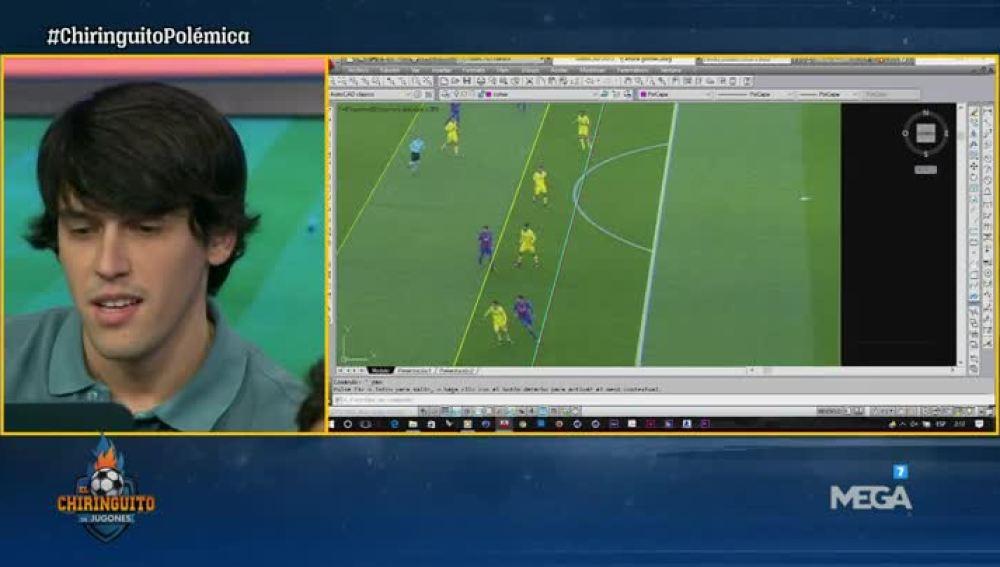 Nacho Tellado analiza el gol de Suárez