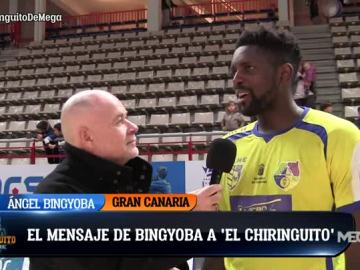 El Punterazo, con el saludo de Ángel Bingyoba