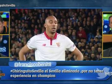 La eliminación del Sevilla, a debate