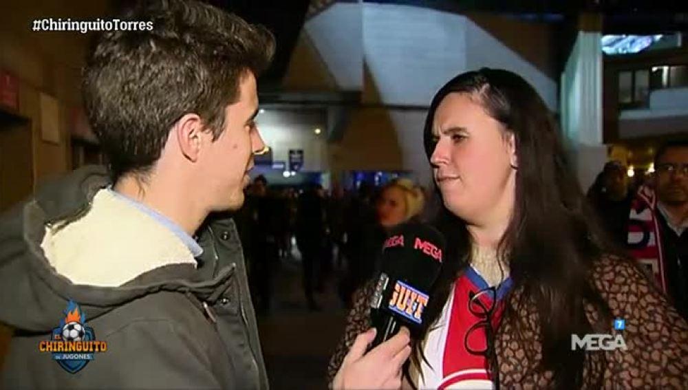 La afición del Atleti opina sobre Torres