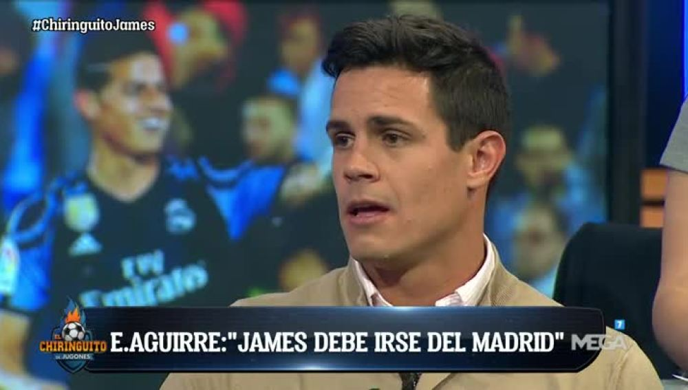 Edu Aguirre, sobre James Rodríguez