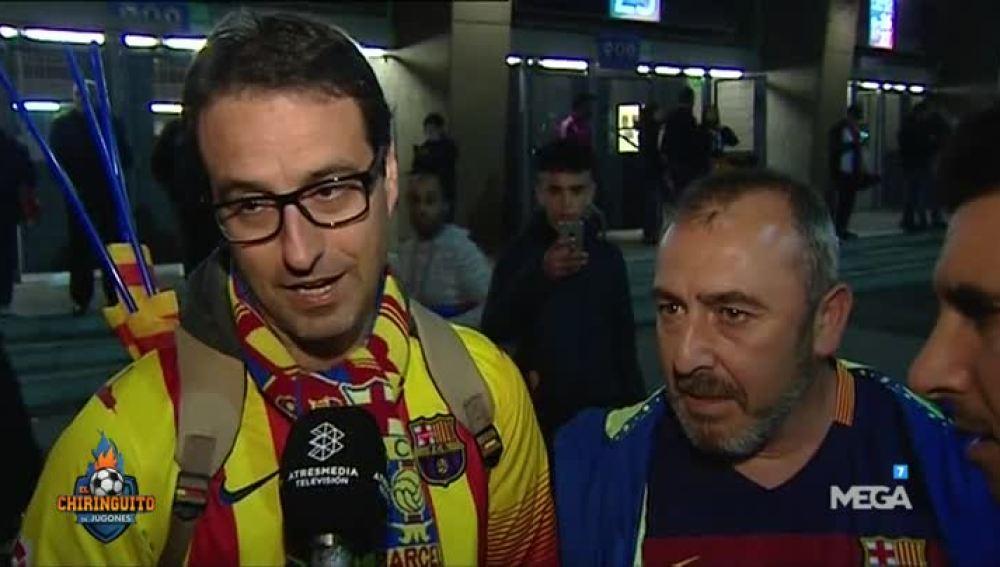 La encuesta a los aficionados del Barça