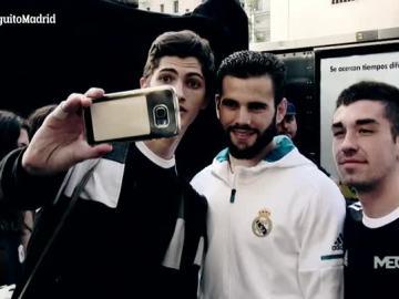 Presentación de la nueva equipación del Madrid