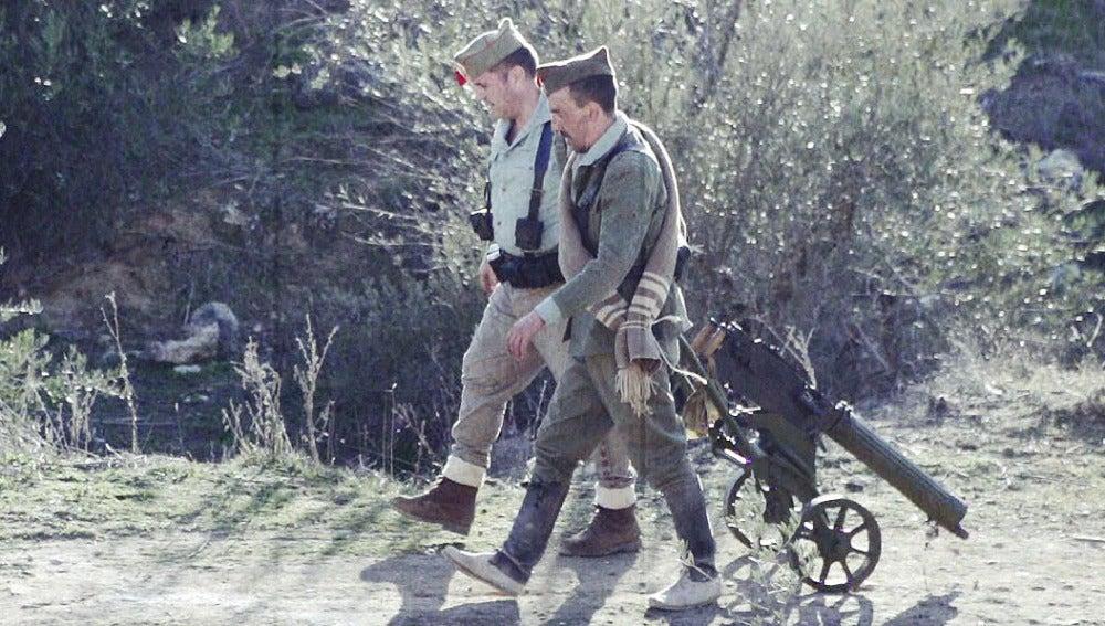 España ensayo de una guerra