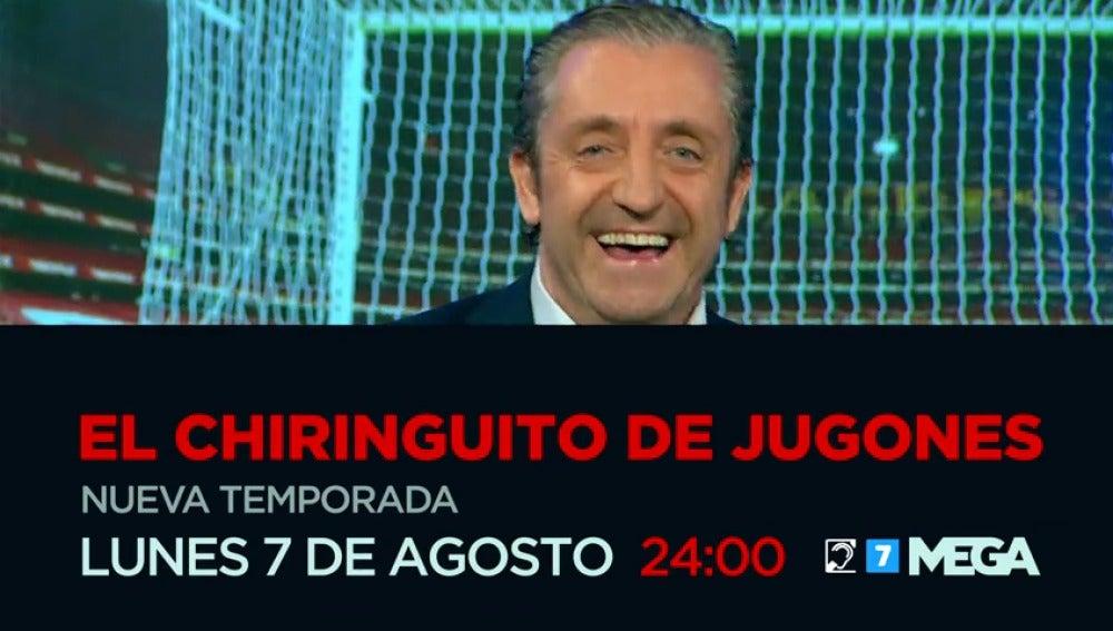 El 7 de agosto vuelve 'El Chiringuito de Jugones'