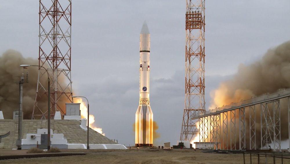 Así fue el lanzamiento de la nave de la misión ExoMars