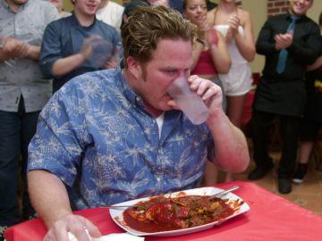 Casey Webb se enfrenta al 'burrito del diablo'