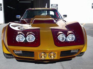 Corvette del 75 de ensueño por el 75 aniversario de Carl's Junior