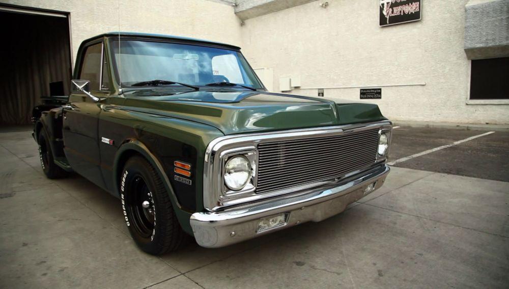 Una impresionante pick up Chevrolet del 71