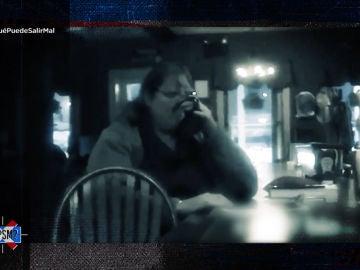 """¿Quién se enconde detrás de misteriosa sombra?: La cita de la """"pelandrusca"""""""