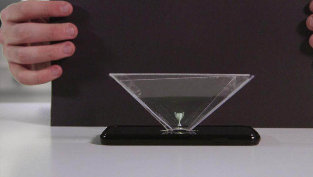 Cómo hacer un holograma con tu móvil