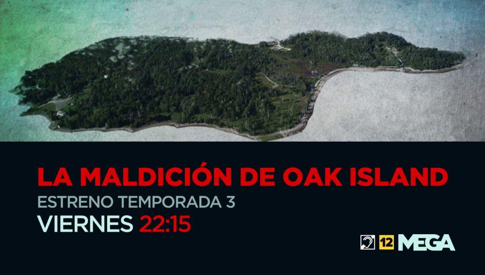 Este viernes, estreno de la tercera temporada de 'La maldición de Oak Island'