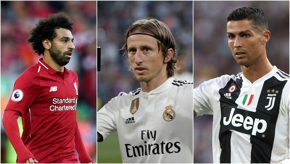 Salah, Modric y Cristiano, candidatos al premio 'The Best'