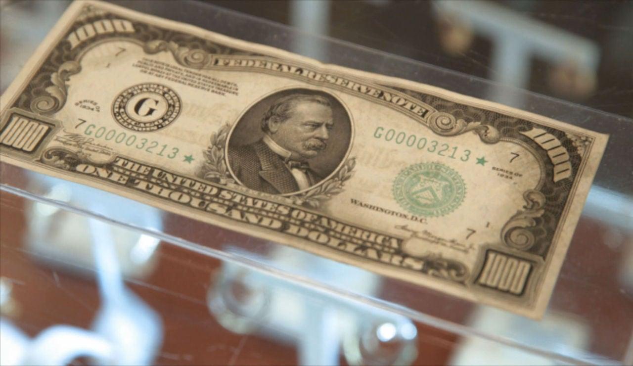 Billete de 1.000 dólares