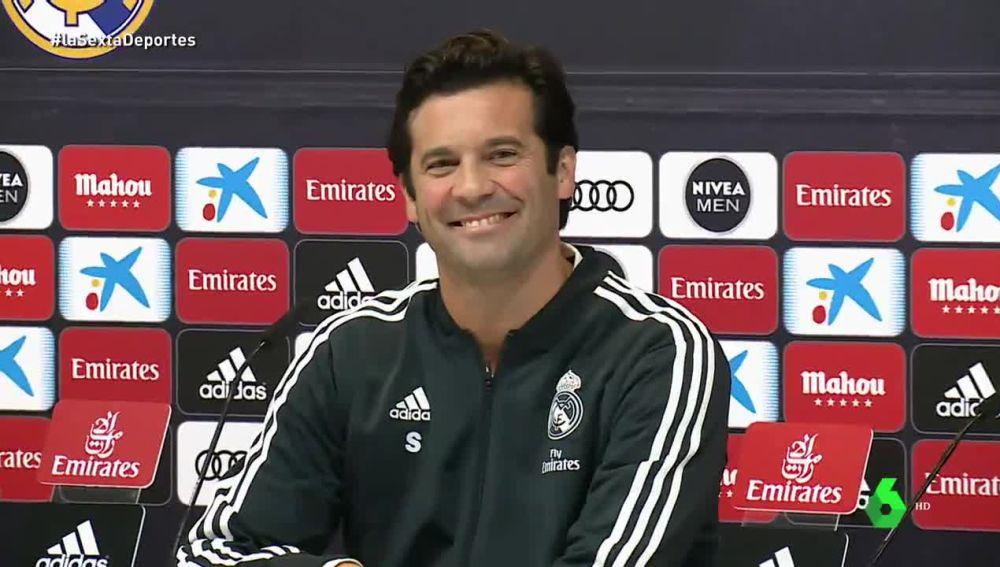 laSexta Deportes (30-10-18) Solari, al estilo Zidane en su primera rueda de prensa: el argentino no dejó de sonreír