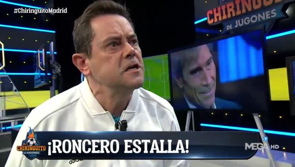 Tomás Roncero en El Chiringuito