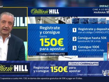 Josep Pedrerol con William Hill