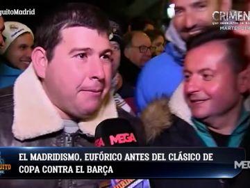La afición del Real Madrid se rinde a Vinicius y Benzema