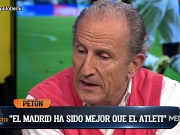 """Petón: """"Hemos visto triunfar al Madrid en el Wanda sin reproches"""""""