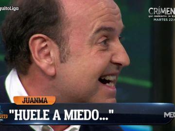 "Juanma Rodríguez: ""Huele a miedo"""