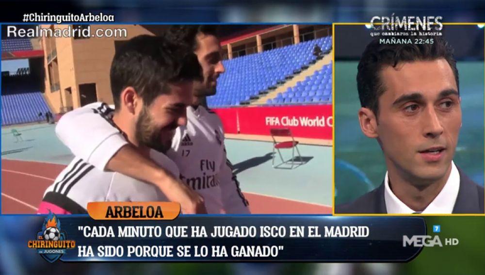 """Álvaro Arbeloa: """"Es importante que Isco se diga a sí mismo que dio todo lo que tenía"""""""