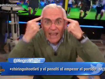 """Paco García Caridad: """"Inteligencia Cholo. Huevos no. Inteligencia""""."""