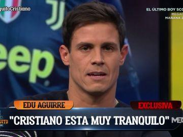 """Edu Aguirre: """"Cristiano está tranquilo, está seguro que van a remontar"""""""