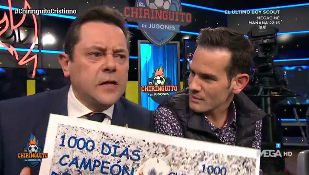"""Tomás Roncero: """"¡1000 días, 1000 noches y 1000 chiringuitos siendo campeones de Europa!"""""""