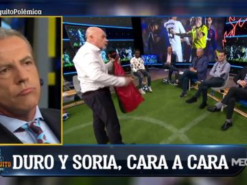 """Cristóbal Soria: """"Prefiero ir con la cabeza alta a que me digan, mira, uno del Madrid"""""""