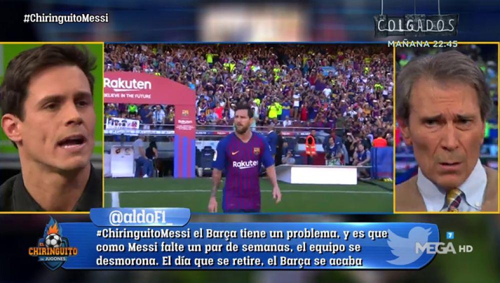 """Edu Aguirre: """"El Madrid ha ganado Champions y Balones de Oro mientras Messi esta en su casita"""""""