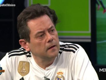 """Tomás Roncero:""""Estoy más orgulloso que nunca del Real Madrid"""""""