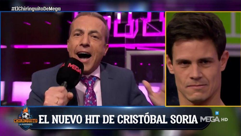 """Cristóbal Soria presente su nuevo hit: """"Ya no está 'serresiete'"""""""