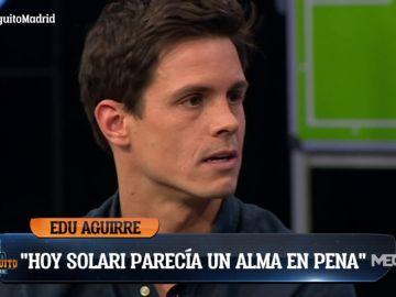 """Edu Aguirre: """"Los jugadores están más hundidos que nunca"""""""