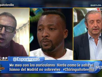 """Edwin Congo: """"Saca la Biblia ahora Cristóbal"""""""