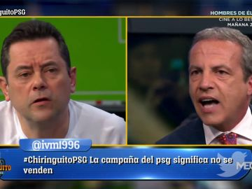 Cristóbal Soria se 'mofa' del Real Madrid