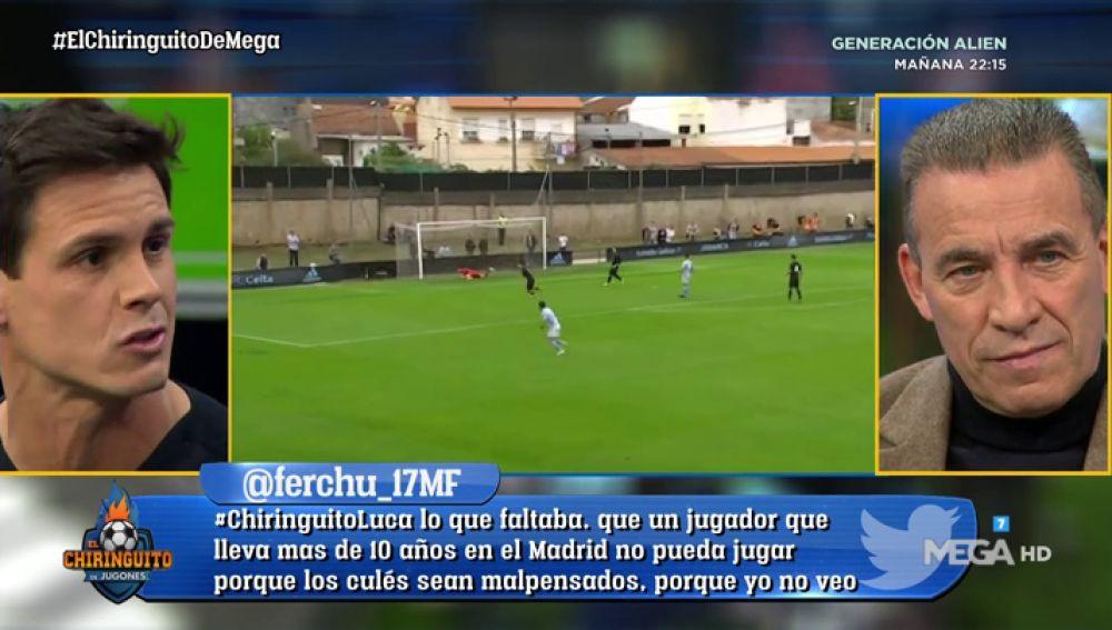 """Edu Aguirre: """"Me da rabia que los que no han visto jugar a Luca Zidane digan que no tiene nivel"""""""