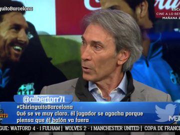 """Lobo Carrasco: """"Messi hace de Iniesta, de Xavi y sigue haciendo de Messi"""""""