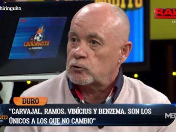 """Alfredo Duro: """"El Madrid tiene que ser un equipo de verdad. No tiene genética ganadora"""""""