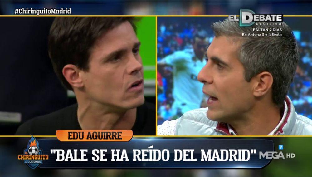 """Edu 'estalla' contra Gareth Bale: """"Se ha reído en la cara del madridismo"""""""