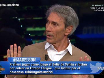 "Lobo Carrasco: ""Si hago una llamada, Cristóbal Soria es capaz de salir al césped del Camp Nou"""