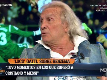 """Loco Gatti: """"Me da una lástima este Real Madrid. Hoy parecía un equipo de la B"""""""