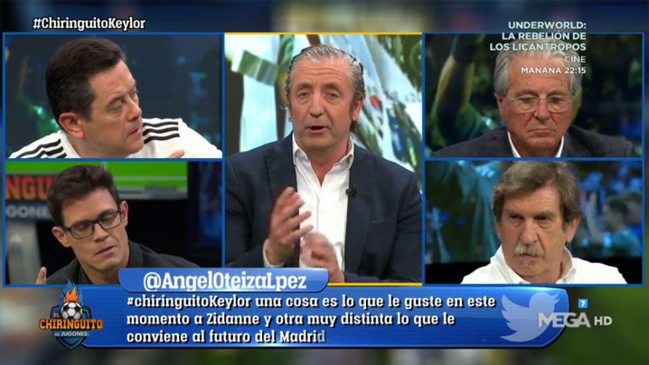 """Josep Pedrerol: """"El Sentimiento Te Dice Que Keylor Es"""