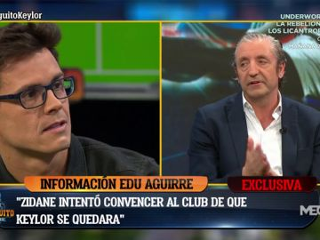 "Edu Aguirre: ""Zidane intentó convencer al club de que Keylor se quedara"""