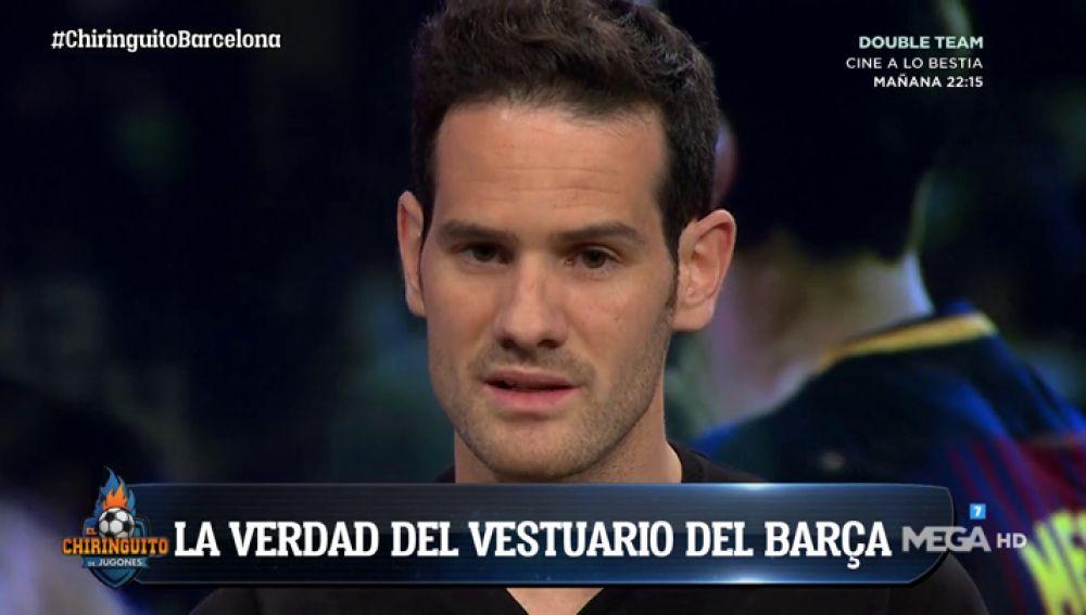 """Quim Domènech: """"Algunos pesos pesados del Barcelona han criticado el liderazgo de Messi y Suárez"""""""