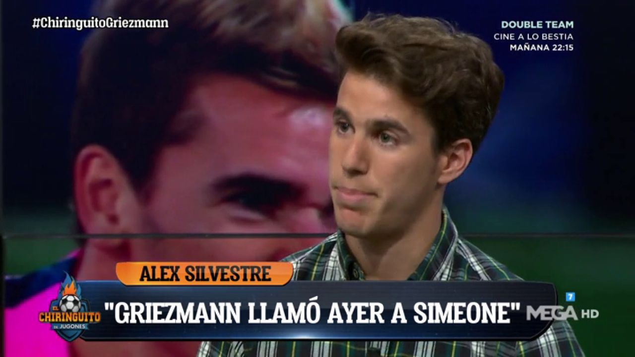 "Alex Silvestre: ""Simeone Está Muy Fastidiado Porque"